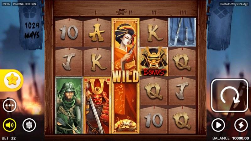 Bushido Ways xNudge :: Main Game Board