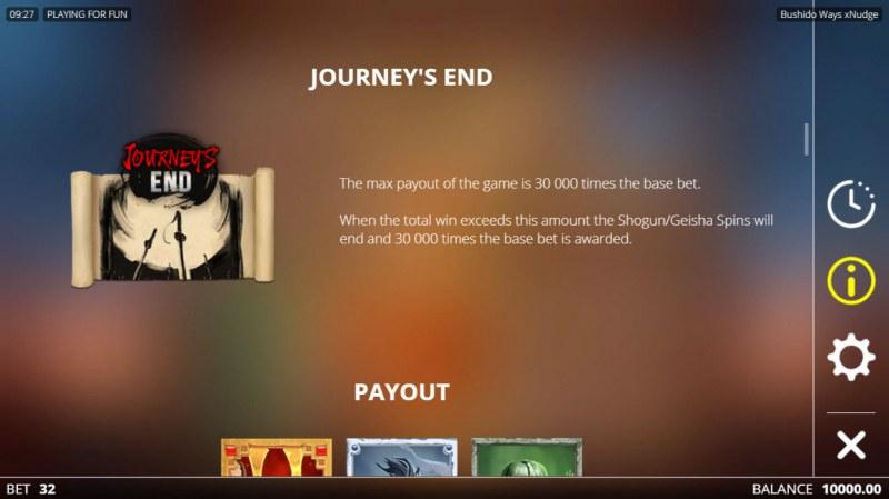 Bushido Ways xNudge :: Journey's End