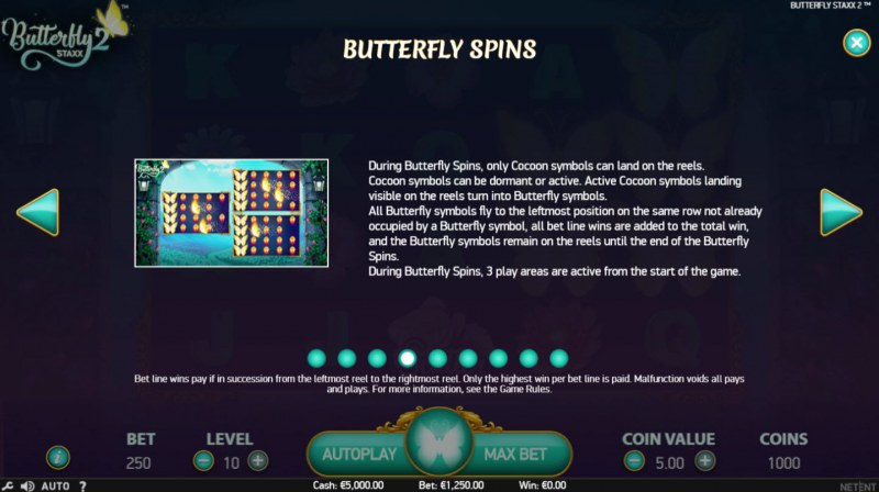 Butterfly Staxx 2 :: Butterfly Spins