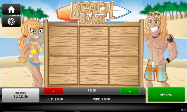 Play slots at Sports and Casino: Sports and Casino featuring the Video Slots Beach Bum's with a maximum payout of $25.00