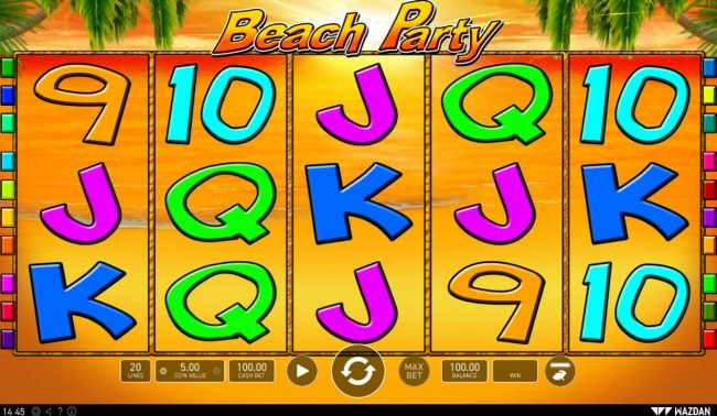 Play slots at Napoli: Napoli featuring the Video Slots Beach Party with a maximum payout of $50,000