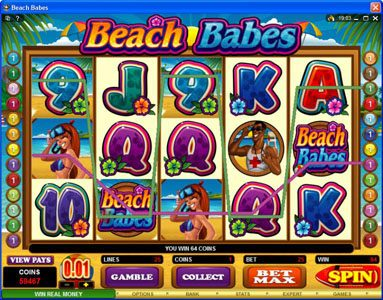 Wixstars featuring the Video Slots Beach Babes with a maximum payout of $150,000