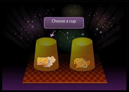 Bear Factory :: shoose a cup to select your winnings