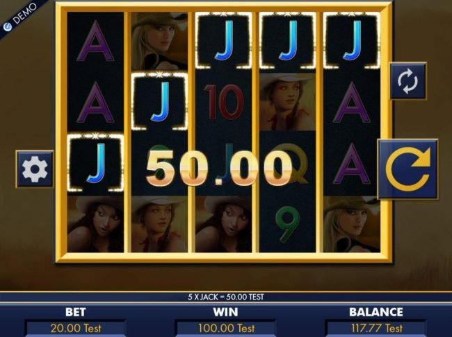 Thrills featuring the Video Slots Belle's Bandits with a maximum payout of $20,000