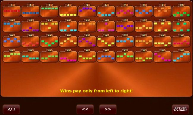 Bells on Fire :: Win Lines 1-40