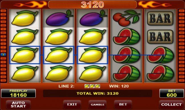 Bells on Fire :: A 3120 coin jackpot win