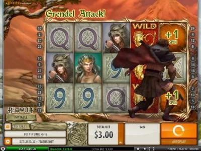 Casimba featuring the Video Slots Beowulf with a maximum payout of $5000.00