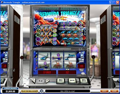 Play slots at Royal Dice: Royal Dice featuring the Video Slots Bermuda Triangle with a maximum payout of $100,000