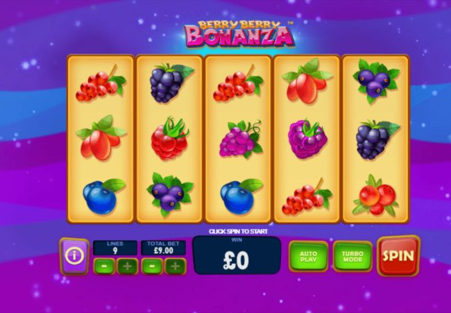Play slots at Lota Play: Lota Play featuring the Video Slots Berry Berry Bonanza with a maximum payout of $90,000