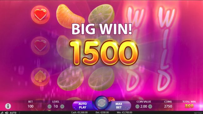 Norske Casino featuring the Video Slots Berry Burst with a maximum payout of $10,000
