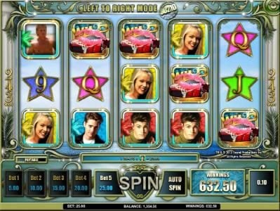 Rose Slots featuring the Video Slots Beverly Hills 90210 with a maximum payout of $250