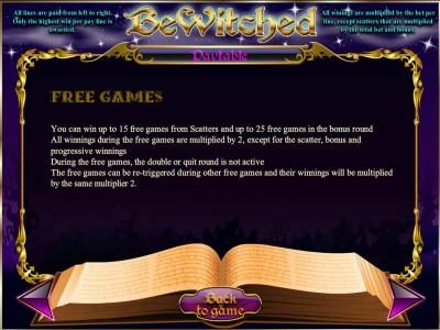 Astralbet featuring the Video Slots Bewitched with a maximum payout of Jackpot