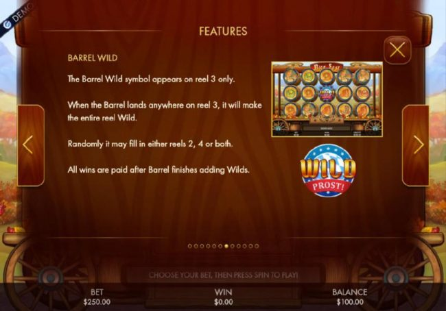 Norskespill featuring the Video Slots Bier Fest with a maximum payout of $250,000