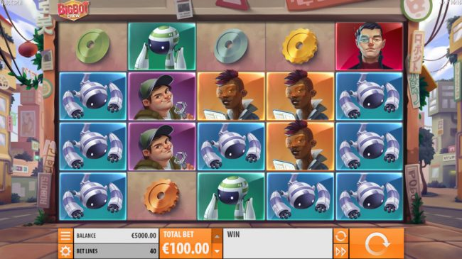 NetBet featuring the Video Slots Big Bot Crew with a maximum payout of $500,000