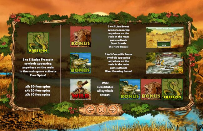 Venetian featuring the Video Slots Big Game Hunter with a maximum payout of $7,500