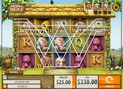 Play slots at Boaboa: Boaboa featuring the Video Slots Big Bad Wolf with a maximum payout of $5,000