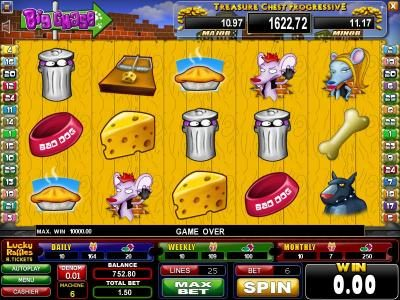 Play slots at Casinoval: Casinoval featuring the Video Slots Big Chase with a maximum payout of $1,500