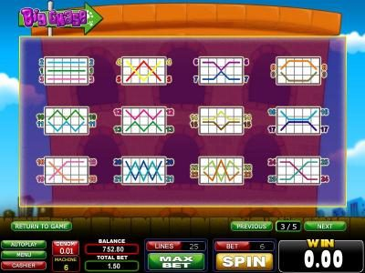 Casinoval featuring the Video Slots Big Chase with a maximum payout of $1,500