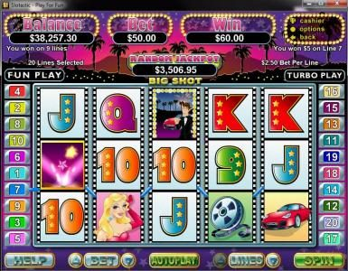 Play slots at Captain Jacks: Captain Jacks featuring the Video Slots Big Shot with a maximum payout of $250,000