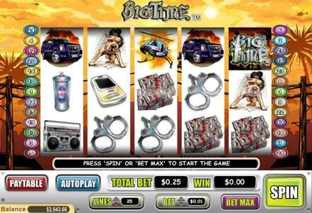 Play slots at Lincoln: Lincoln featuring the Video Slots Big Time with a maximum payout of $40,000