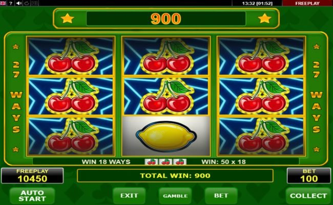 Hyper Casino featuring the Video Slots Billy's Game with a maximum payout of $5,400