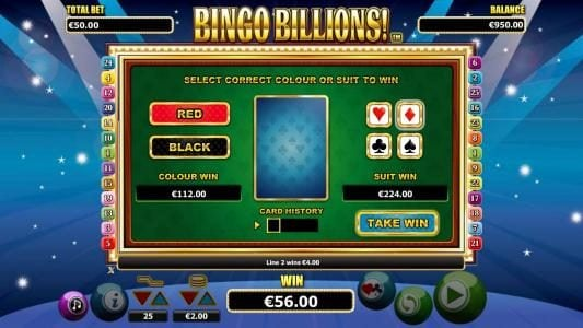 Casino Superlines featuring the Video Slots Bingo Billions with a maximum payout of $10,000