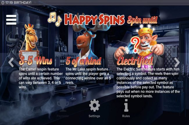 Leo Vegas featuring the Video Slots Birthday! with a maximum payout of $250,000