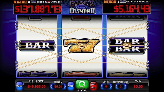 Black Diamond :: Main Game Board