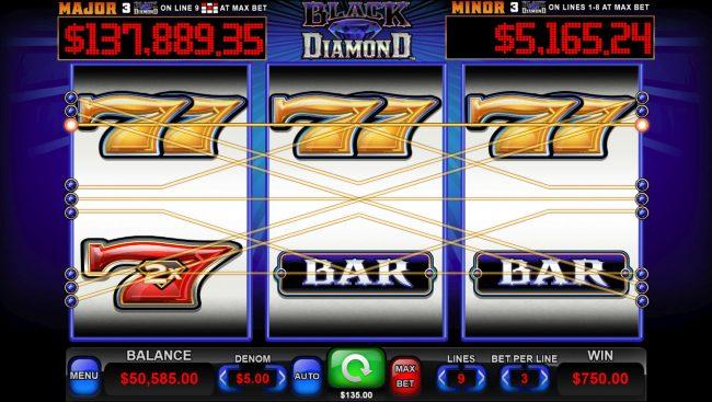 Black Diamond :: A winning three of a kind