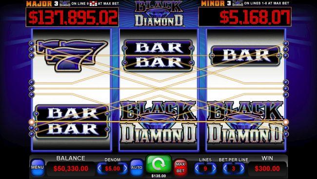 Black Diamond :: Three of a Kind