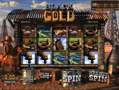 Play slots at Superior: Superior featuring the Video Slots Black Gold with a maximum payout of $5,000
