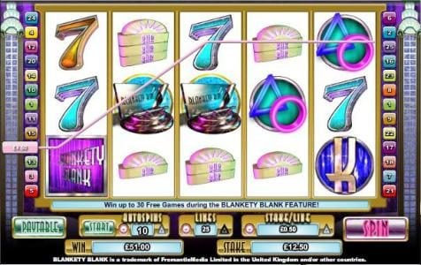 All Slots featuring the Video Slots Blankety Blank with a maximum payout of $100,000