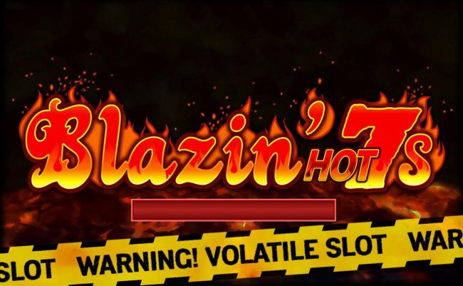 Play slots at All Jackpots: All Jackpots featuring the Video Slots Blazin' Hot 7s with a maximum payout of $10,000