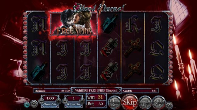 Blood Eternal :: Free Spins awarded