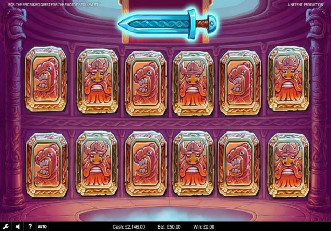 Africa Casino featuring the Video Slots Bob The Epic Viking Quest for the Sword of Tullemutt with a maximum payout of $203,000