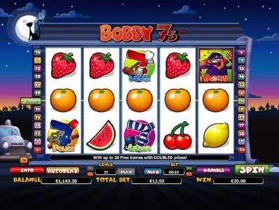 Diamond Club VIP featuring the Video Slots Bobby 7s with a maximum payout of $200