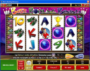Fika Casino featuring the Video Slots Bob's Bowling Bonanza with a maximum payout of $500,000