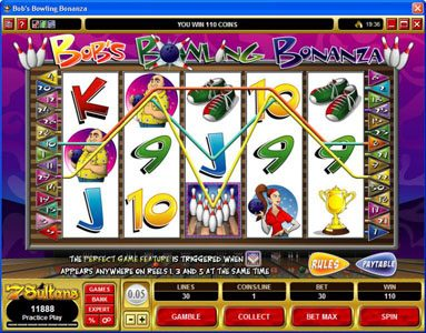 Play slots at Lucky 247: Lucky 247 featuring the Video Slots Bob's Bowling Bonanza with a maximum payout of $500,000