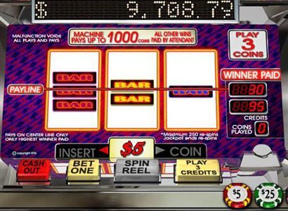 All Star Slots featuring the Video Slots Bonkers with a maximum payout of Jackpot
