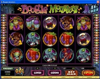 Play slots at Phoenician: Phoenician featuring the Video Slots Boogie Monsters with a maximum payout of $120,000