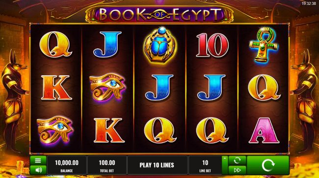 Play slots at Betflip Casino: Betflip Casino featuring the Video Slots Book of Egypt with a maximum payout of $500,000