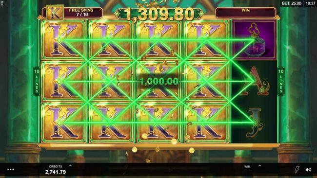 Astralbet featuring the Video Slots Book of Oz Respin Feature with a maximum payout of $25,000