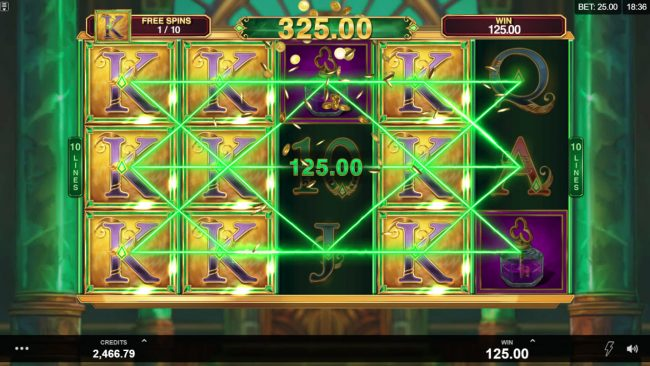 Royal Panda featuring the Video Slots Book of Oz Respin Feature with a maximum payout of $25,000
