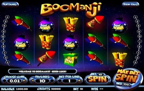Play slots at Drake: Drake featuring the Video Slots Boomanji with a maximum payout of $25,000