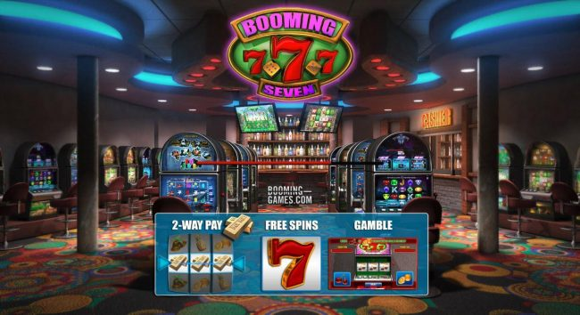 Play slots at 14 Red Casino: 14 Red Casino featuring the Video Slots Booming 7 with a maximum payout of $2079.00