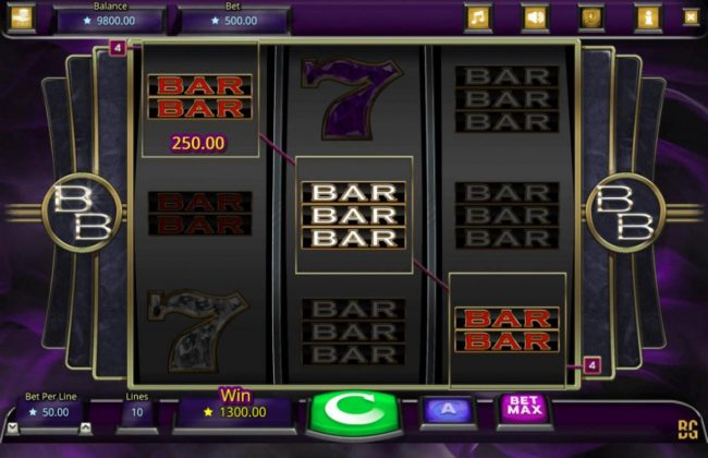 Play Club Casino featuring the Video Slots Booming Bars with a maximum payout of $25,000