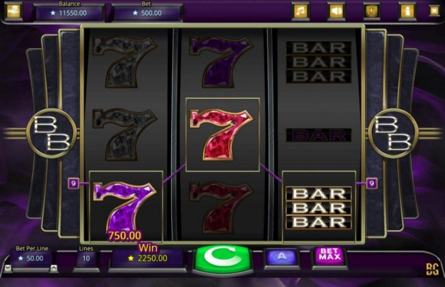 Booming Bars :: Multiple winning paylines triggers a big win!