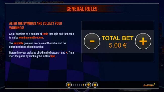 Boost Racers City Edition :: General Game Rules