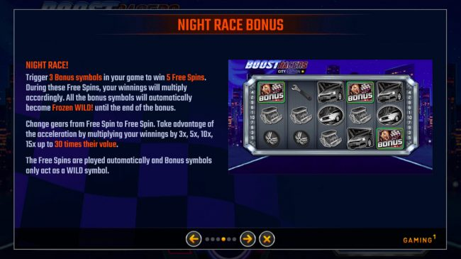 Boost Racers City Edition :: Night Race Bonus