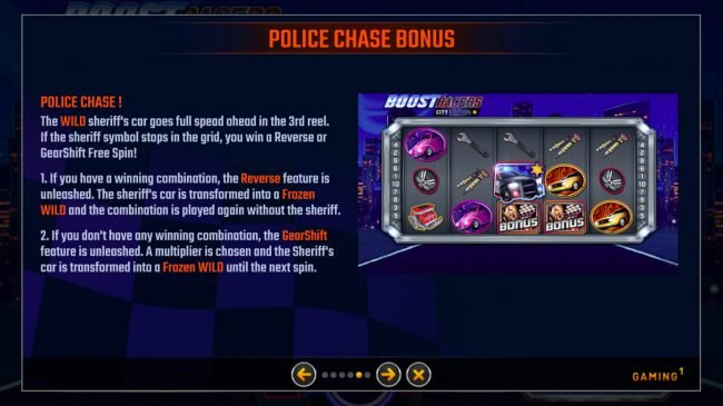 Boost Racers City Edition :: Police Chase Bonus